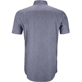 Klättermusen M's Lofn SS Shirt Storm Blue Melange